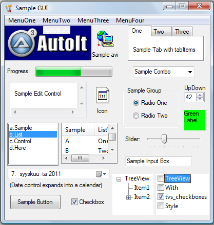 file write autoit