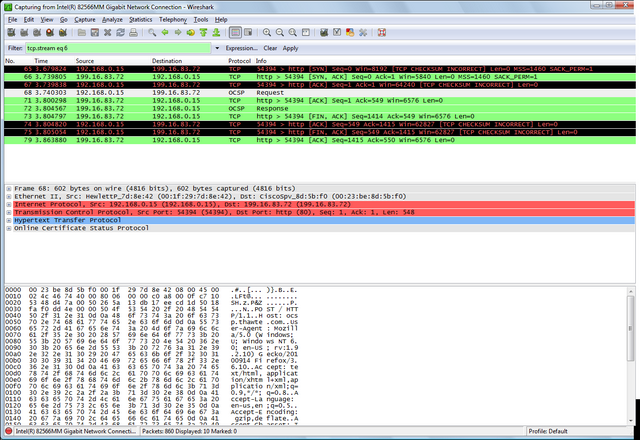 Wireshark-mainwindow