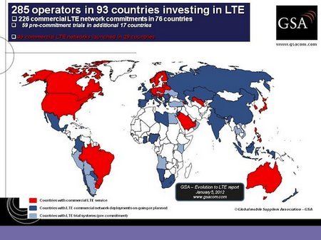LTE World map 285 investments 050112 small