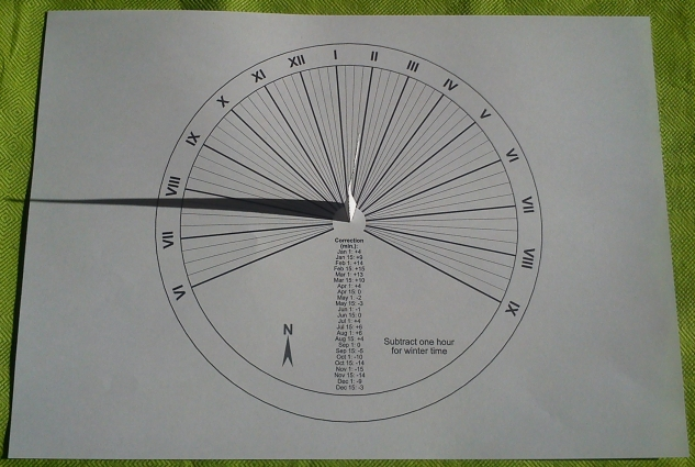 Fun and Learning: Sundial Kits with building instructions