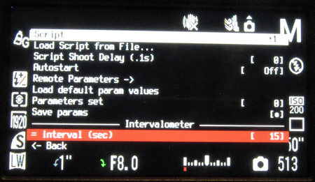 chdk-set-script-parameters