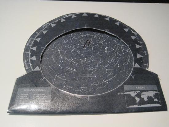 DIY-planisphere