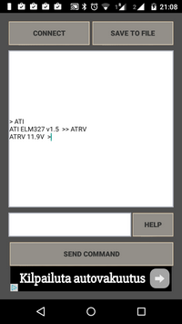 Elm327 OBD Terminal
