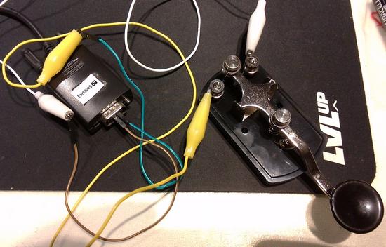 Morsecode-key