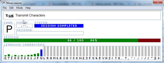 Morsecode-transmit